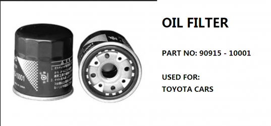 TOYOTA OIL FILTERS 2